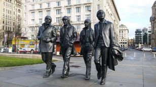 Socha The Beatles (Liverpool, UK)