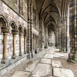 Palace of Holyroodhouse - Abbey (Edinburgh